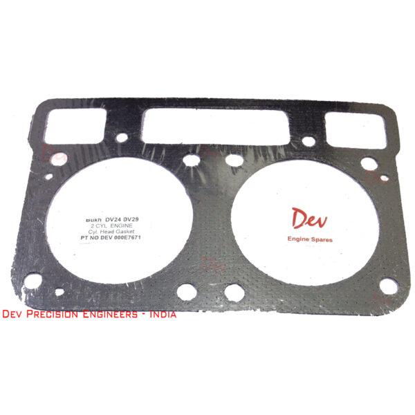 Bukh DV24 DV29 DV32 Head Gasket Part No DEV 000E7671