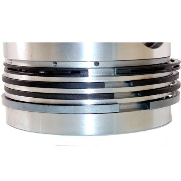 Lister 9/1 JP, JS JK Top Chromed Piston Ring Set 574-10990